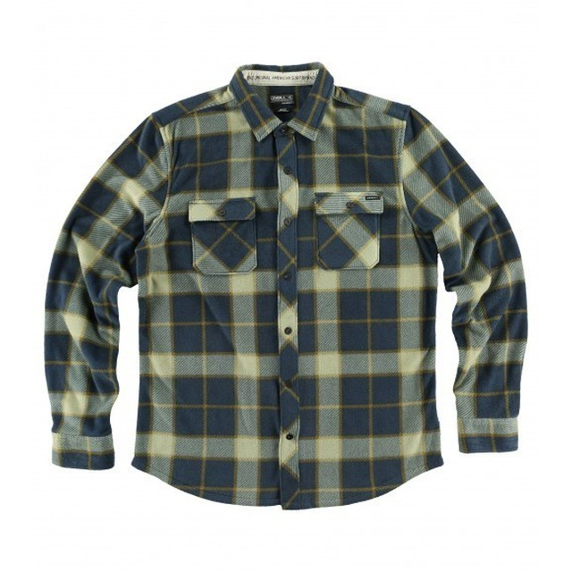 Glacier Big Plaid - Navy