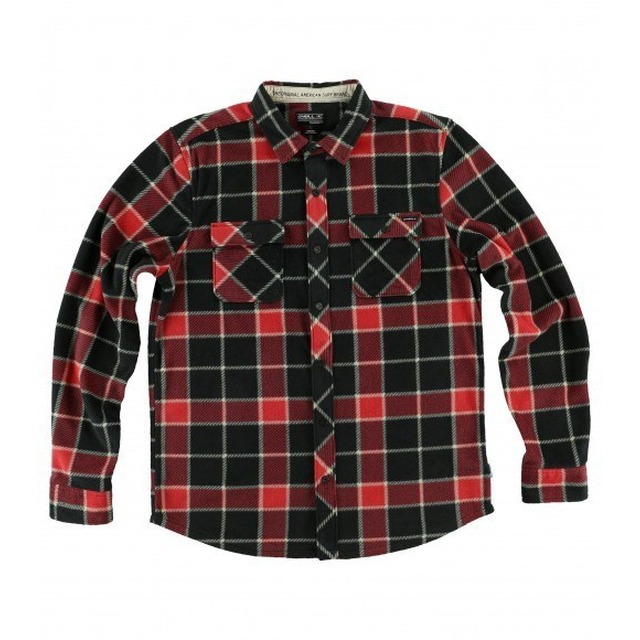 Glacier Big Plaid - Red
