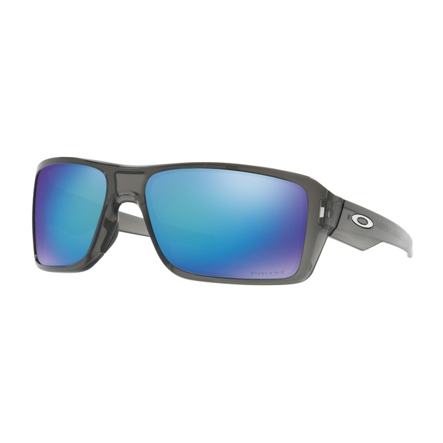Oakley Double Edge Grey Smoke/ Prizm Sapphire Polarized