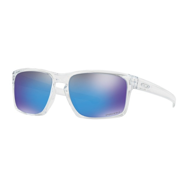 Oakley Sliver Polished Clear/ Prizm Sapphire Iridium