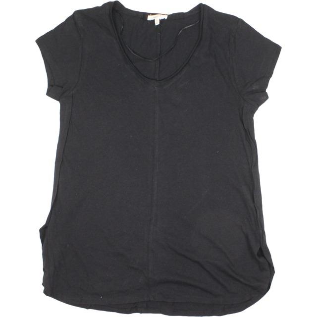 Overlap Side Seam Basic - Black