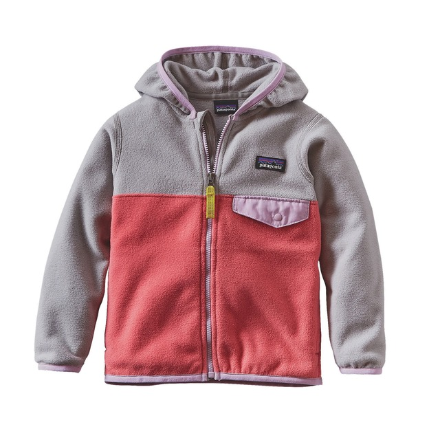 Baby Micro D Snap-T Jkt - Indy Pink