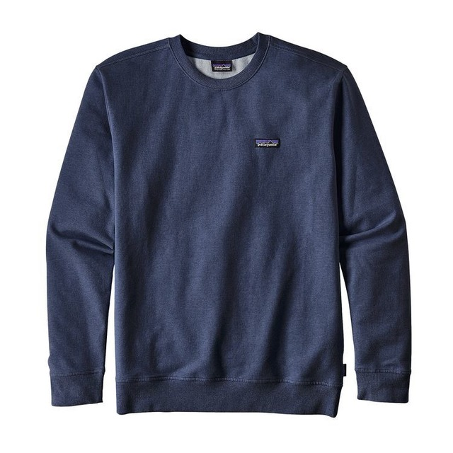 Patagonia P-6 Label MW Crew Navy Blue