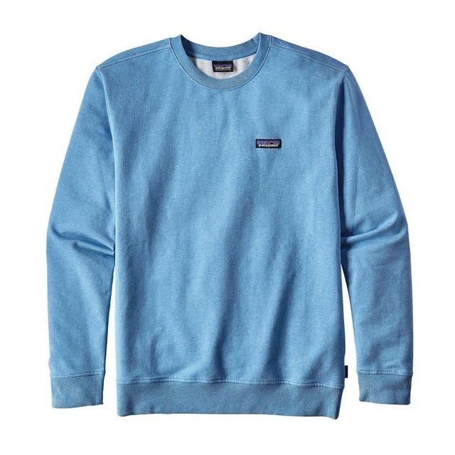 Patagonia P-6 Label MW Crew Radical Blue