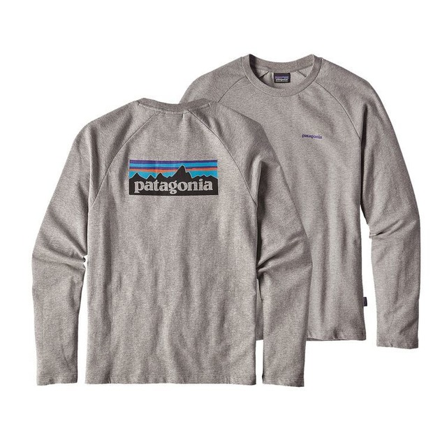 Patagonia P-6 Logo LW Crew Feather Grey