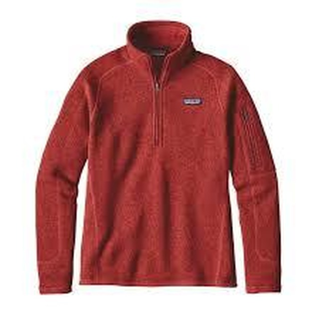 Patagonia W's Better Sweater 1/4 Zip Ramble Red