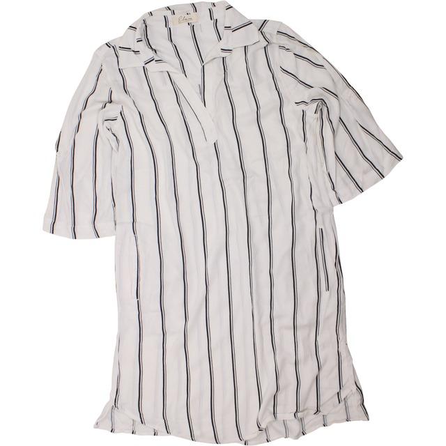 Elan Pocket White Black Stripe
