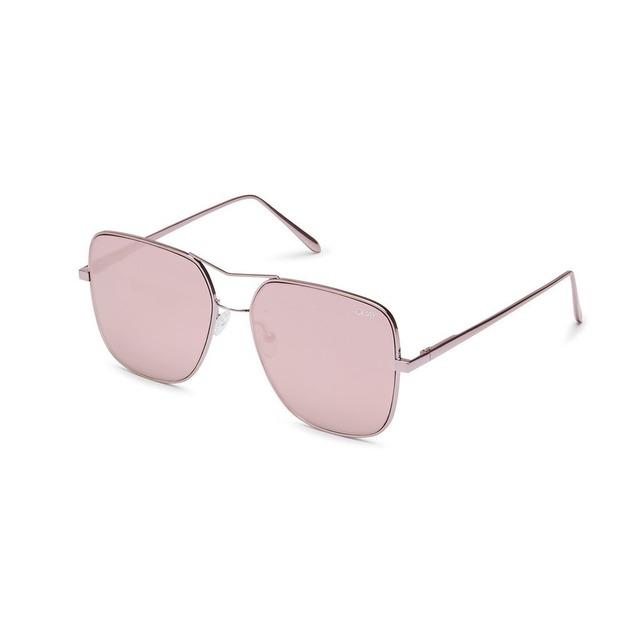 Quay Australia Stop & Stare Pink/ Pink Mirror