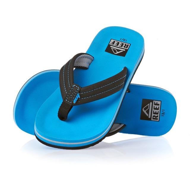 Ahi Flip Flop - Neon Blue