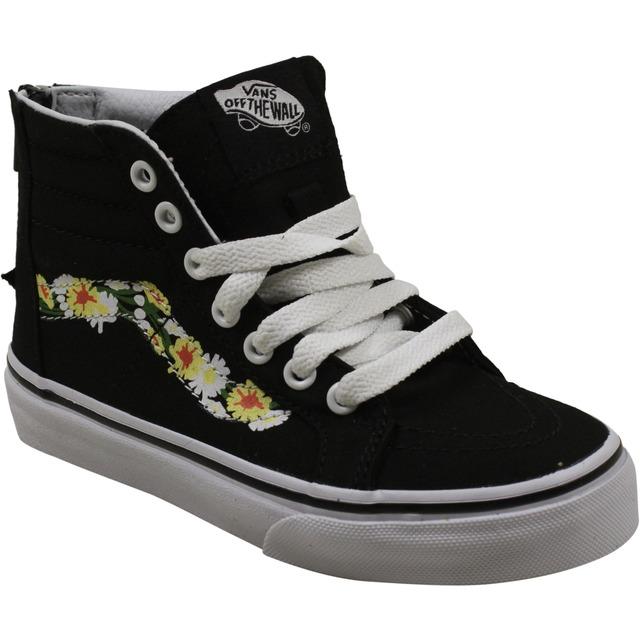 Sk8-Hi Zip Sneakers - (Daisy) Black/True White