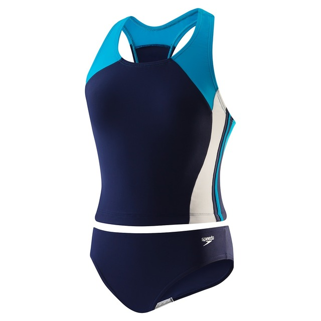 Speedo Infinity Splice Tankini Deep Water