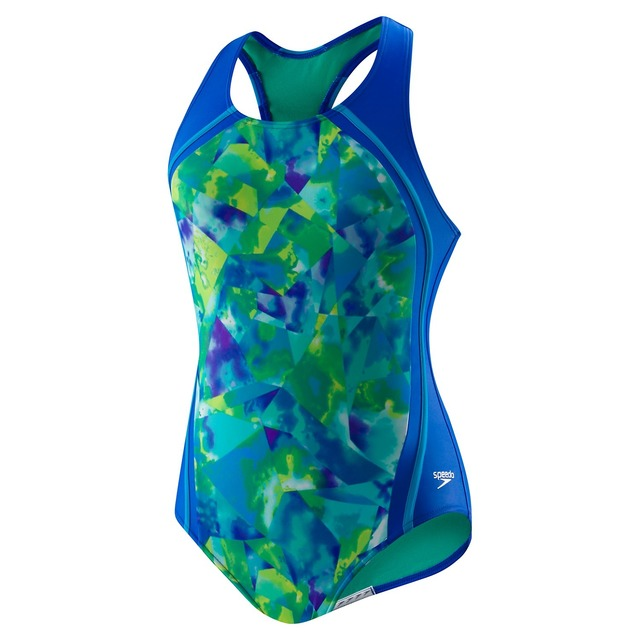 Speedo Tye Dye Sports Splice Blue