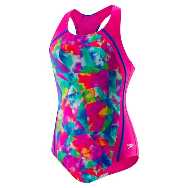 Speedo Tye Dye Sports Splice Multi