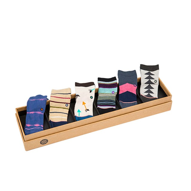 Stance Chicklet Sock Set Usa