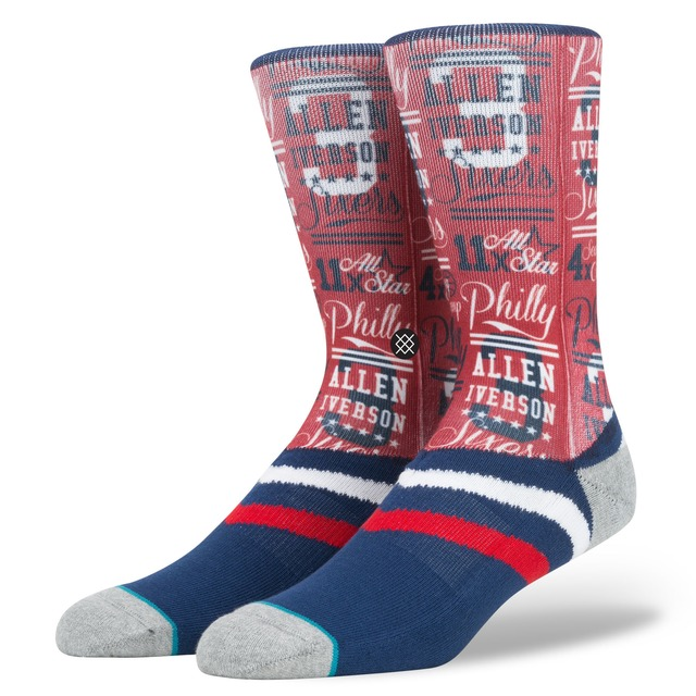 Stance Iverson Stats Navy