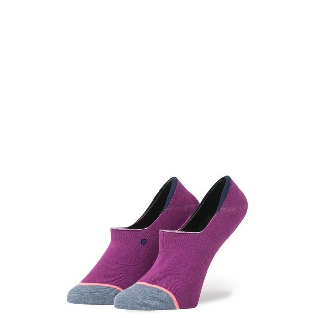 Stance Plain Jane Super Invisible Purple