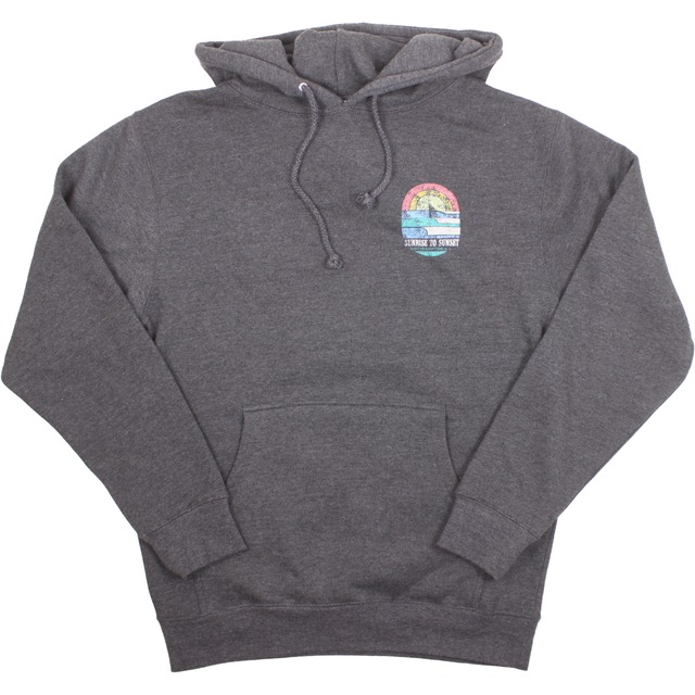 Streamline Sunrise Logo Fleece Charcoal Heather