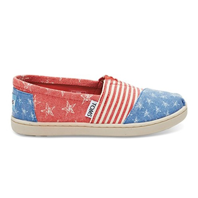 Youth Classic - Red Canvas Stars and Stripes