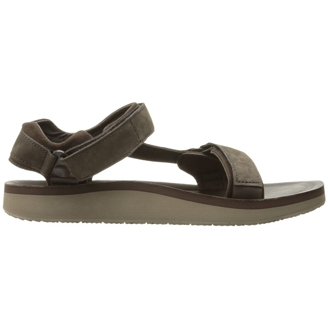 Teva M Original Universal Premier Leather Chocolate Brown