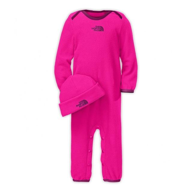 Lil Cozy Fleece Set - Azalea Pink