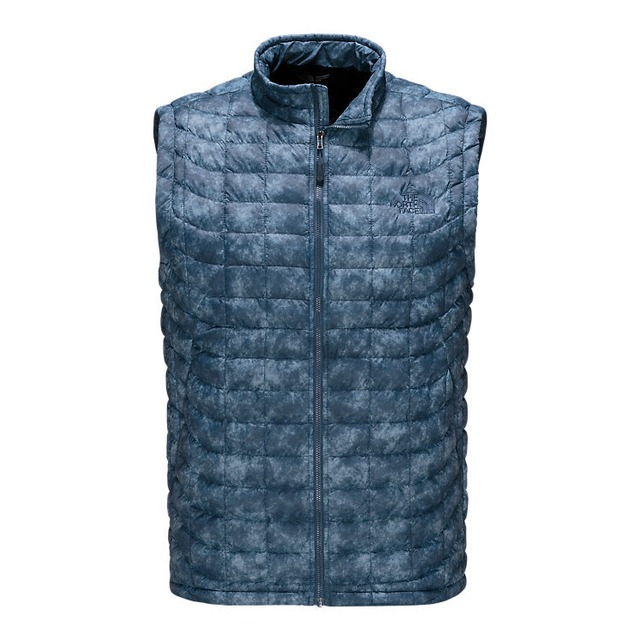 The North Face M Thermoball Shady Blue Process Print