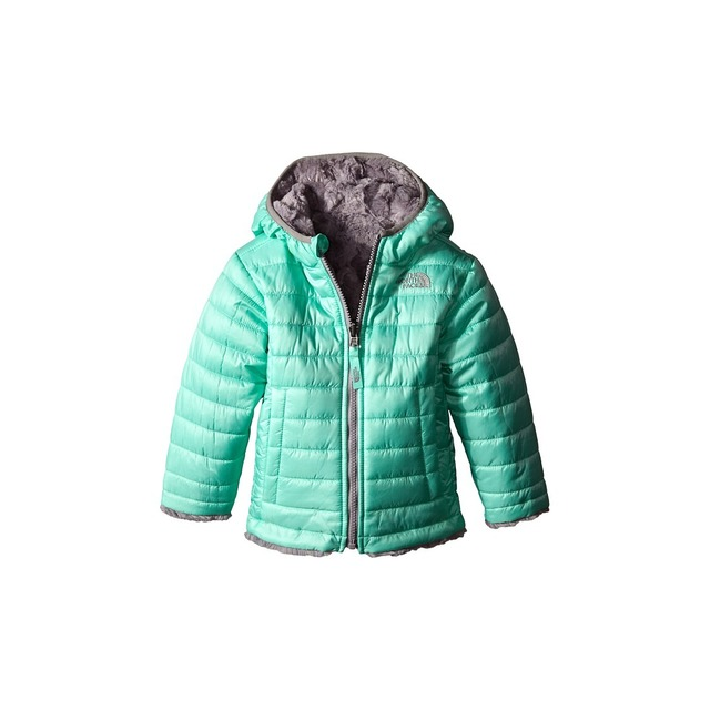 Toddler Girls' Reversible Mossbud Swirl Jacket - Surf Green