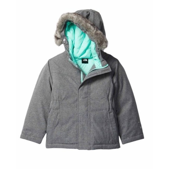 The North Face Toddler Greenland Down Jacket Metallic Silver