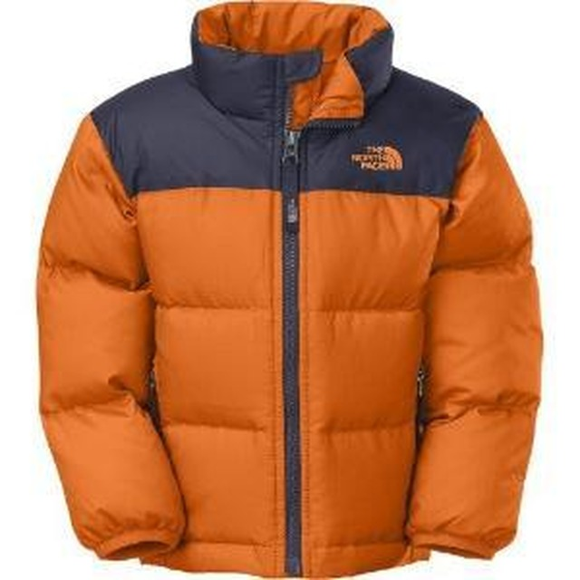 Toddler Nuptse Jacket - Peel Orange