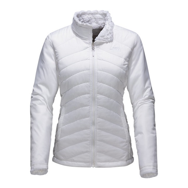 The North Face W's Mossbud Swirl Reversible TNF White/White