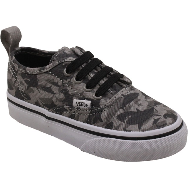 Vans Toddler Authentic V Lace (Reef Sharks) Drizzle/True White