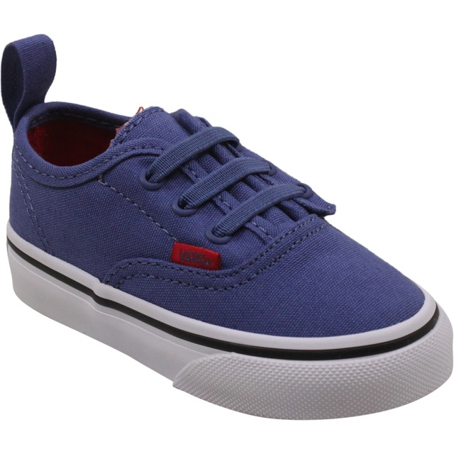 Vans Toddler Authentic V Lace (Sport Pop) Bijou Blue/Racing Red