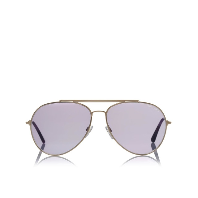 Tom Ford Indiana Gold/ Purple- 58