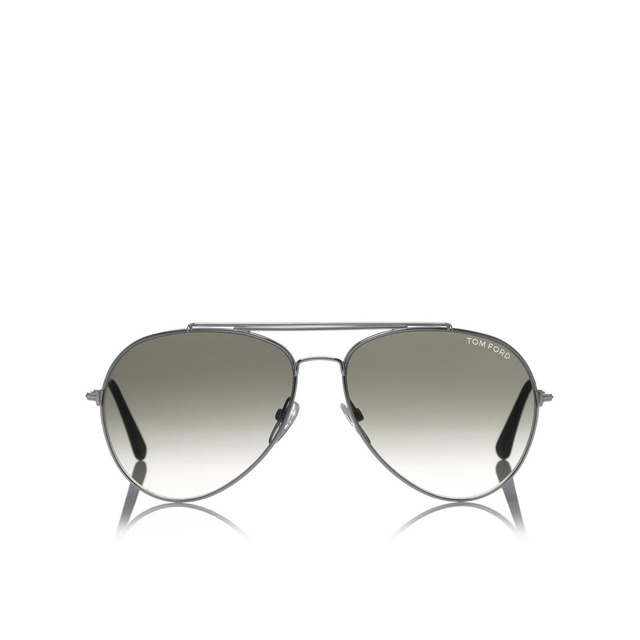 Tom Ford Indiana Silver- 58
