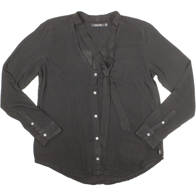 Obey Tompkins Long Sleeve Black