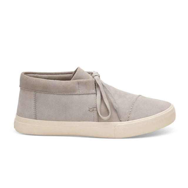 Toms Emerson Mid Drizzly Grey Suede