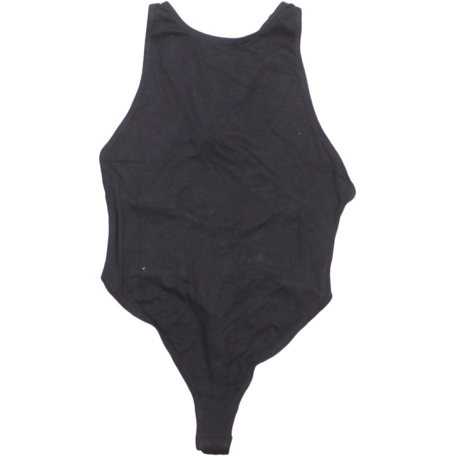 Free People Up and Around Bodysuit Black