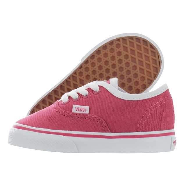 Authentic Sneakers - (Pop Binding) Claret Red/ True White