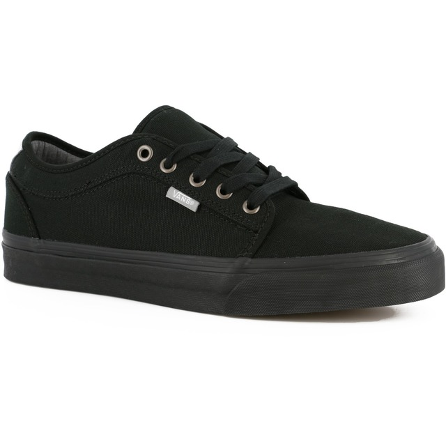 Chukka Low - (Chambray) Black