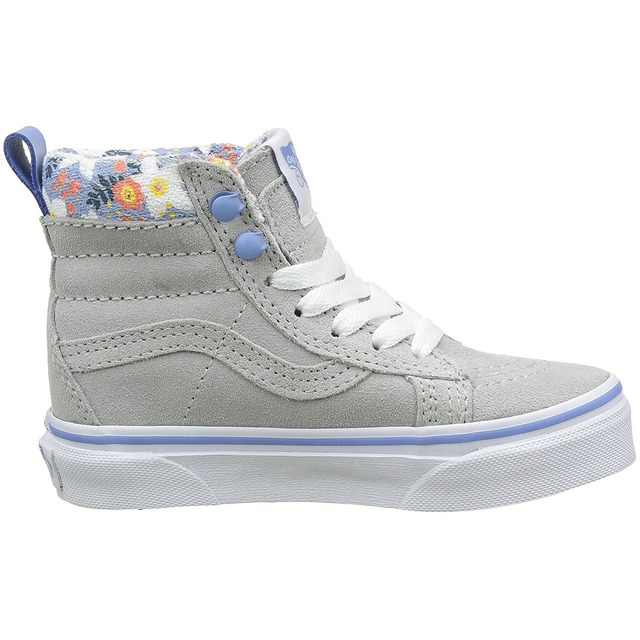 SK8-Hi Zip Sneakers  - (MTE) Floral Pop/ Gray Violet