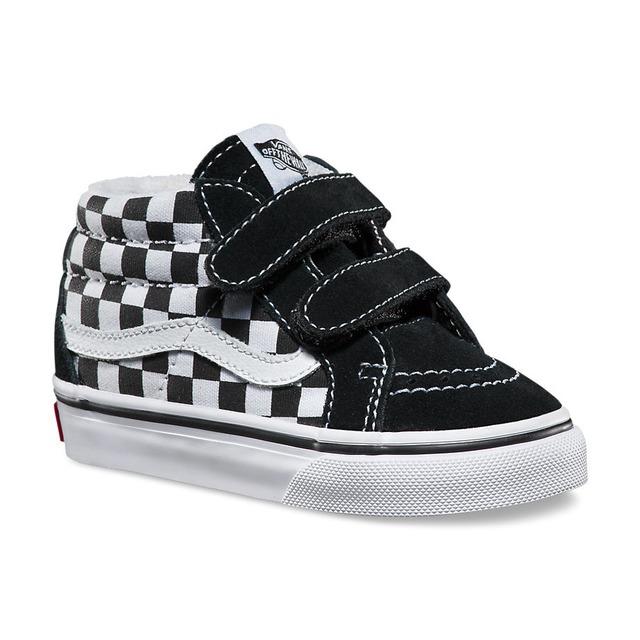 Vans Sk8-Mid Reissue V (Checkerboard) Black/True White