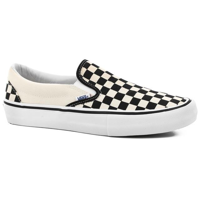 Vans Slip-On Pro (Checkerboard) Black