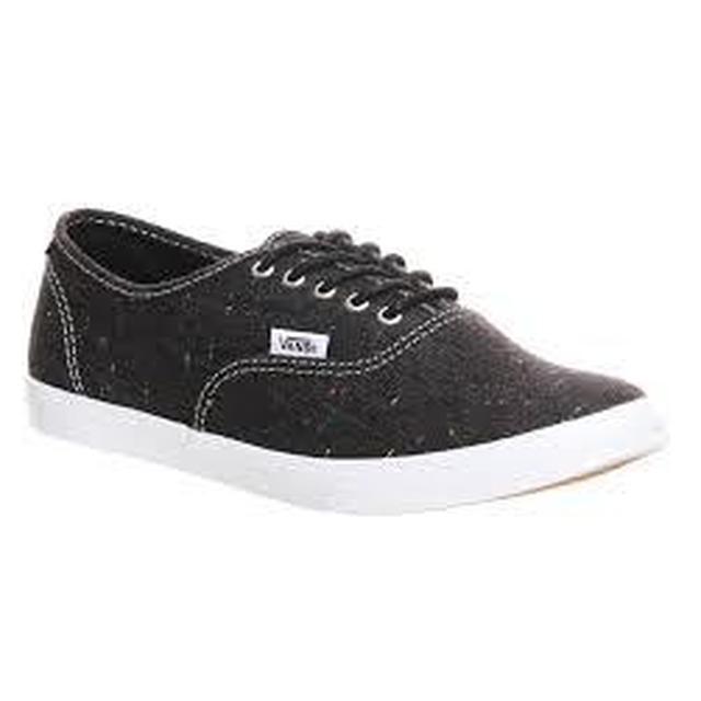 W Authentic Lo Pro - (Speckle Linen) Black