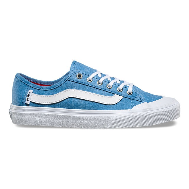 Vans W Black Ball SF Washed Canvas Cendre Blue