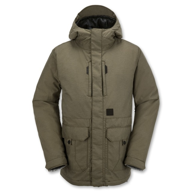 Range Insulated Snowboarding - Olive Green