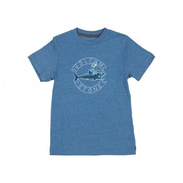 Volcom Sharky SS Smokey Blue