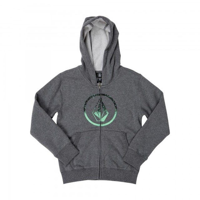 Volcom Stone Zip Up Graphite