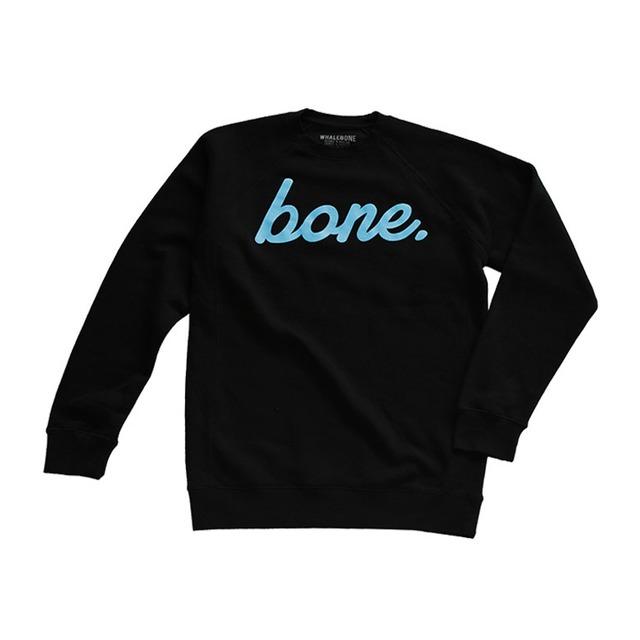 Whalebone Bone Crewneck Black
