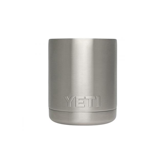 Yeti Rambler Lowball w/ Lid Stainless Steel