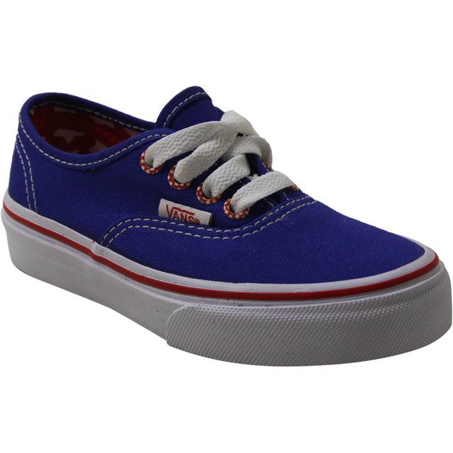 Vans Youth Authentic (Star Eyelet) Surf The Web