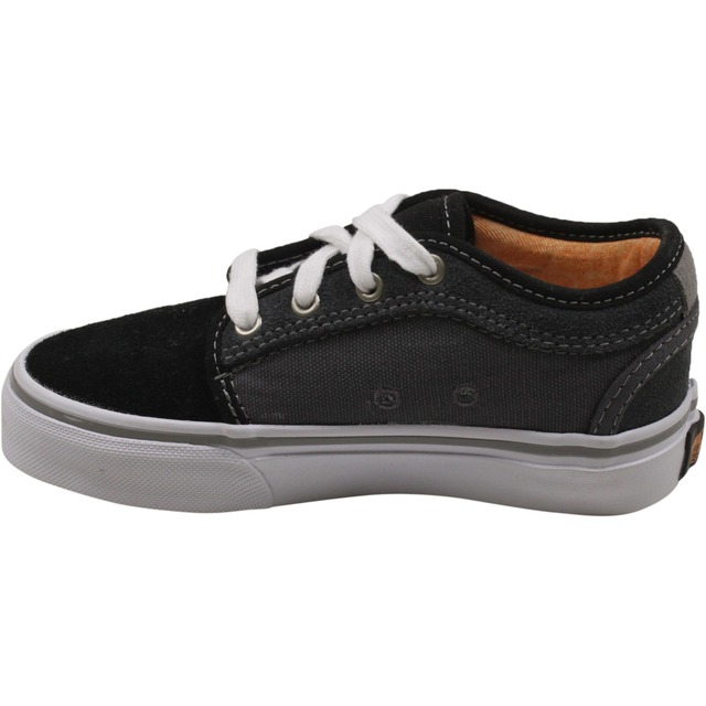 Vans Youth Chukka Low Black/Charcoal/Orange